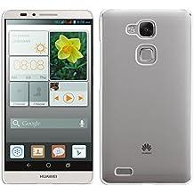 kwmobile Elegante funda rígida transparente ultrafina para Huawei Ascend Mate 7 transparente