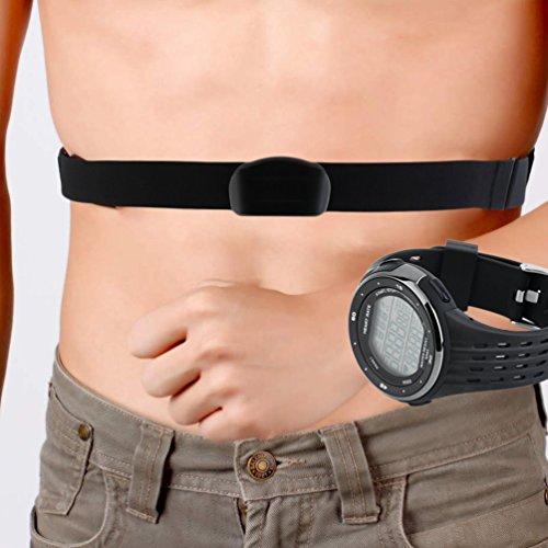 Herzfrequenz Monitor Kalorien Zähler Fitness Tracker Outdoor Herren Sport - Kalorien Zähler-monitor