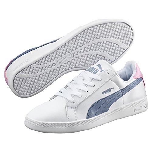 Puma Damen Smash L Sneakers, Weiß (Puma White-Tempest 06), 40 EU