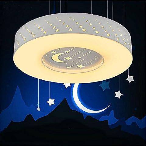BRIGHTLLT Lampe de plafond LED lumière chaude chambre chambre d'enfants