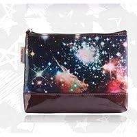ZYT Cerniera stelle trousse grande capacità storage borsa impermeabile lavare borsa da viaggio . brown - Grande Rotonda Borsone