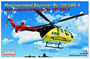 Eastern Express EE72143 Messerschmitt-Bolkow-Blohm Bo-105 Cbs-4Utair - Modelo de plástico