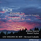 Psaume 51/Cantate 82 [Import allemand]