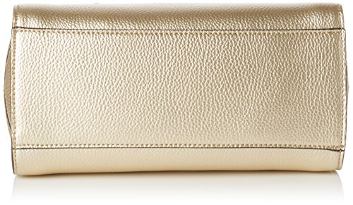 Guess Damen Sissi Small Satchel Handtaschen, Einheitsgröße Gold