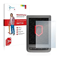 3x Vikuiti Screen Protector DQCT130 from 3M for PocketBook Touch Lux 3