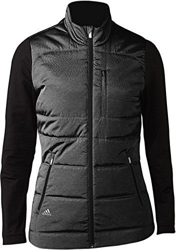 adidas Climawarm Full-Zip Quilted Golf-Jacke, Damen XL Schwarz -