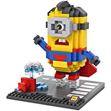 iBlock Fun - Bloques construcción miniatura LOZ  - Superman Minion