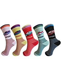 ANIMATED DESIGN SOCKS FOR BOYS & GIRLS PACK OF 5