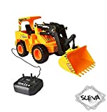#3: Wired Remote Control Battery Operated JCB Crane Truck Toy - by Sceva
