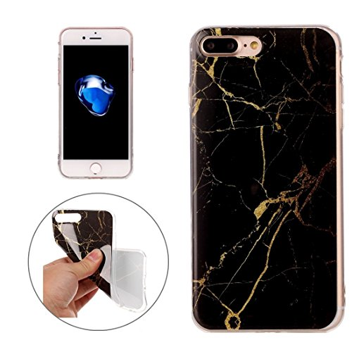 Wkae Blue Marble Pattern Soft TPU Schutzhülle für iPhone 7 Plus ( SKU : Ip7p1209h ) Ip7p1209d