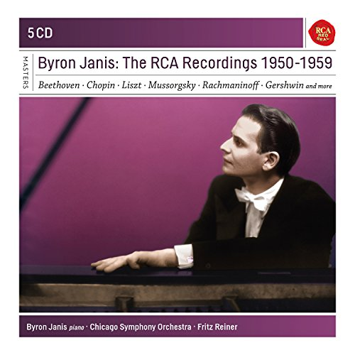 Byron Janis: The RCA Recordings 1950-1959 (Coffret 5 CD)