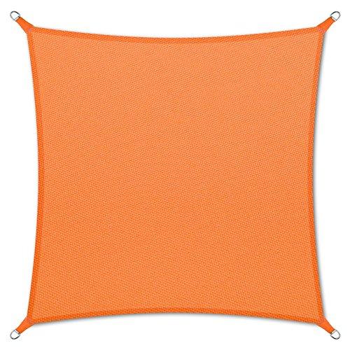 casa pura Sonnensegel wasserabweisend imprägniert | quadratisch, 3x3m | Testnote 1.4 | UV Schutz |...