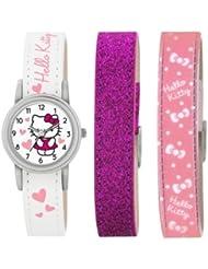 Hello Kitty Kinder-Armbanduhr Analog Kunststoff Weiß HK003