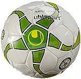 uhlsport Fußball Medusa Anteo 350 Lite, Weiß/Grün/Lime/Schwarz, 4, 100152701