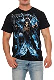 Spiral - Camiseta - para hombre Negro negro Large