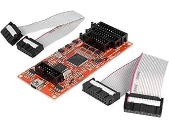 TMS320-XDS100-V3 Programmer microcontrollers ARM TI, DSP TI USB OLIMEX LTD.