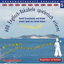 600 Englisch Vokabeln spielerisch erlernt, Grundwortschatz Teil 5, Audio-CD mit Booklet
