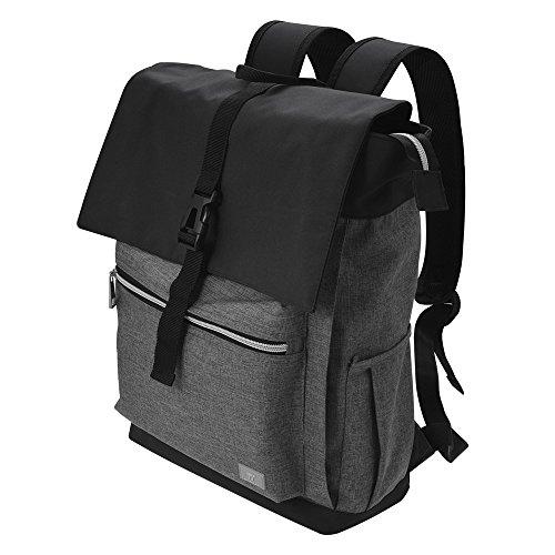 Laptop Rucksack TaoTronics bis zu 15 Zoll für Laptops und Notebooks, spritzwassergeschützt, ideal für Damen, Herren, tägliches Pendeln, Business und Reisen