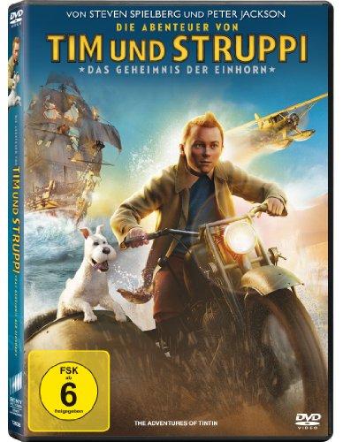 Coverbild: Die Abenteuer von Tim und Struppi - Das Geheimnis der Einhorn