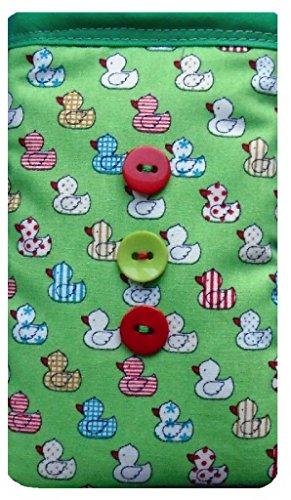Grün quacky Ente Print Apple iPhone 6Plus Socke/Case/Cover/Tasche