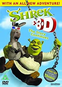 Shrek 3d The Story Continues Dvd Amazon Co Uk