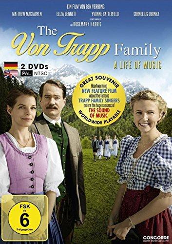 Die Trapp Familie - Ein Leben für die Musik (PAL&NTSC Edition weltweit abspielbar) [2 DVDs]