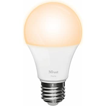 Trust Smart Home ZLED-2209 - Bombilla LED Inteligente Regulable, luz cálida, Color
