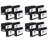 Prestige Cartridge HP 950XL / HP 951XL 16-er Pack Druckerpatronen für HP Officejet Pro 8100, 8600, 8610, 8615, schwarz / cyan / magenta / gelb