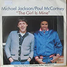 """MICHAEL JACKSON & PAUL McCARTNEY 7"""" Single -The Girl Is Mine/Can't Get Outta.."""