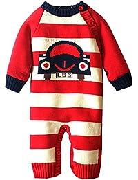 ZOEREA pull bébé garçon enfant barboteuse bébé pyjamas bébé vetement bebe fille costume enfant garçon manches longues chandails de Noël