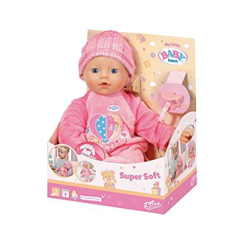 Baby Born?30874?My Little Baby Born Super Soft?Le Poupon viaje suave (