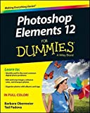 Photoshop Elements 12 For Dummies by Barbara Obermeier (2013-09-23)