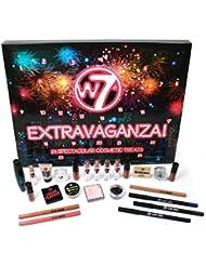 W7 Extravaganza Weihnachten Advent 24 Kosmetik Make-Up Kalender