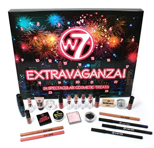 W7 Extravaganza Adviento Cosmético Maquillaje Calendario