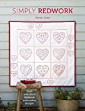 Simply Redwork: Quilt and stitch redwork embroidery designs by Mandy Shaw (12-Sep-2014) Paperback