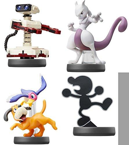 amiibo 【Robot】【Mewtwo】【Duck Shoot】【Mr.Game&Watch】(4 morceau mis)〔Super Smash Bros. Brawl Series〕pour Nintendo Wii U,...