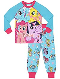 My Little Pony Girls My Little Pony Pyjamas - Snuggle Fit - Ages 2 to 10 Years