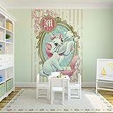 Tapetokids Fototapete - Disney Aristocats Marie - Vlies 152,5 x 104 cm (Breite x Höhe) - Wandbild Katze bestäuben