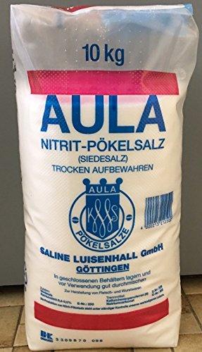 10 Kg AULA Pökelsalz Nitritpökelsalz 0,4-0,5%