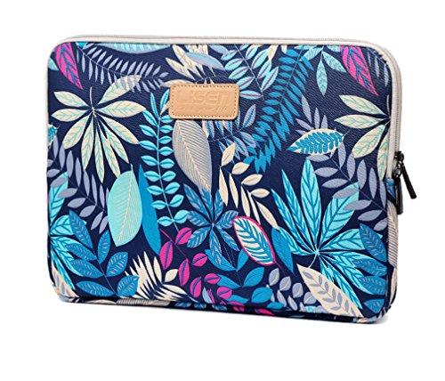 """Bohème Schutzhülle Schutztasche für Laptops Laptophülle Tasche Schutzhülle Sleeve Tasche für Laptop/Notebook Tablet iPad Tab 10\"""" Blau"""