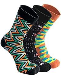 The Moja Club - Men's Luxury, Formal & Work Socks - [ Pack of 3 ] See Pack Option