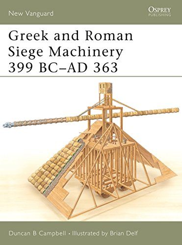 Greek and Roman Siege Machinery 399 BC-AD 363 (New Vanguard) por Duncan B Campbell