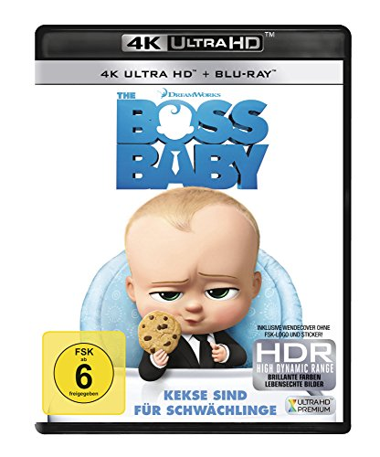 The Boss Baby - Ultra HD Blu-ray [4k + Blu-ray Disc]