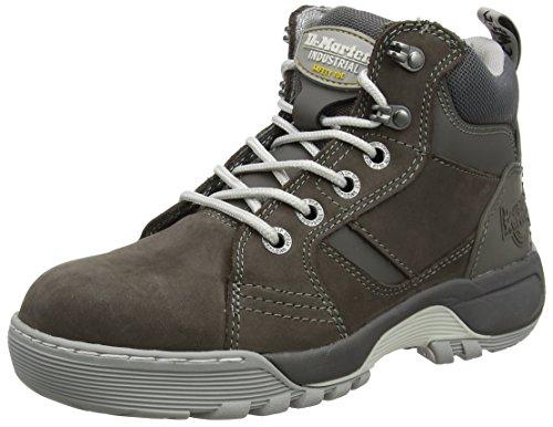 Dr. Martens Damen Opal Steel Toe Sicherheitsschuhe, Grau (Dark Gull Grey 030), 38 EU Martens Steel Toe Boot