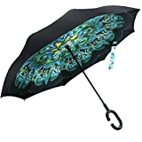 Opret Paraguas Invertido, el Mejor Paraguas Original Inverso Antiviento Grande, Paraguas Reversible...