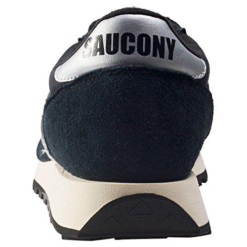 Saucony Jazz Original Vintage Black/White 810, Baskets Homme, Noir Noir (Black / White)