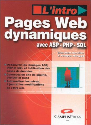 Pages web dynamiques avec ASP PHP SQL