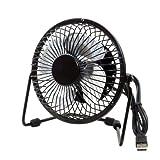#4: Metal Series Mini USB Fan, 360 Degree Rotate