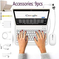 Tablette 10 Pouces 4G 64Go ROM/128Go 4G/WiFi/OTG Android 8.1 6500mAh Tablette Tactile -Octa Core, 3Go RAM, 8MP Caméra Doule SIM, Bluetooth, GPS Tablettes tactiles Pas Cher 4g Portable Débloqué (Or)