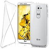 LG G2 Hülle Silikon Transparent Klar [OneFlow Clear